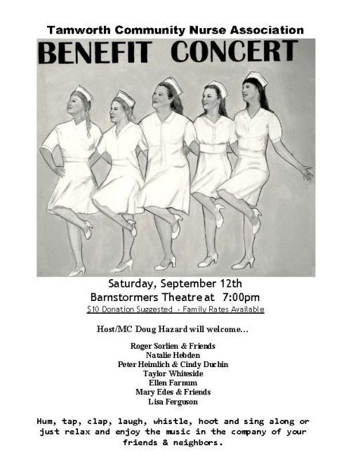 TCNA Benefit Concert 2015